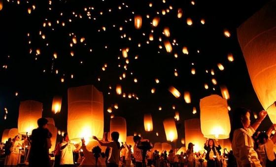 Attention avec vos lanternes thaïlandaises